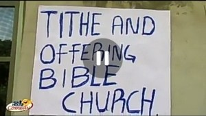 Skit: Real House of Comedy - Tithe and Offering Church